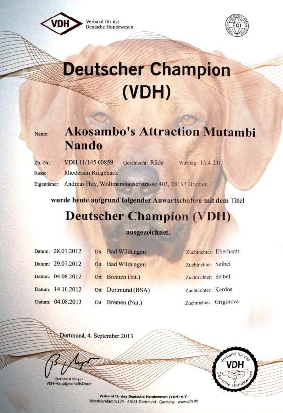 Dt.Champion Nando